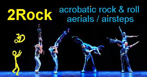 acrobatic rock and roll course